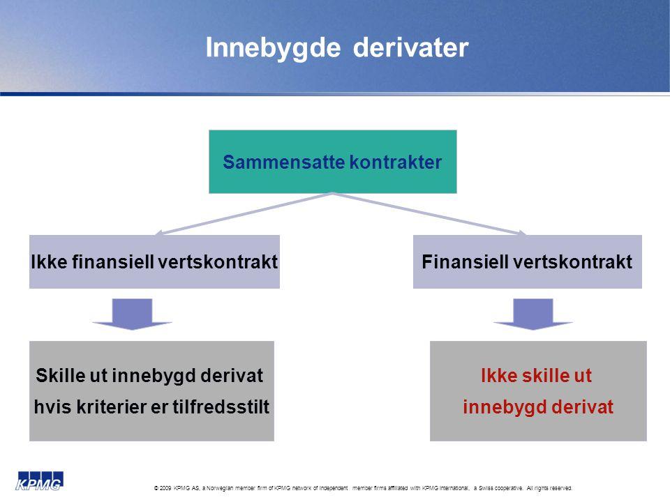 Innebygde derivater Sammensatte kontrakter