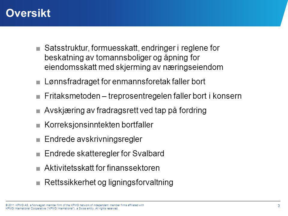 I - Satsstruktur, formuesskatt, endringer i reglene for beskatning av tomannsboliger mv.