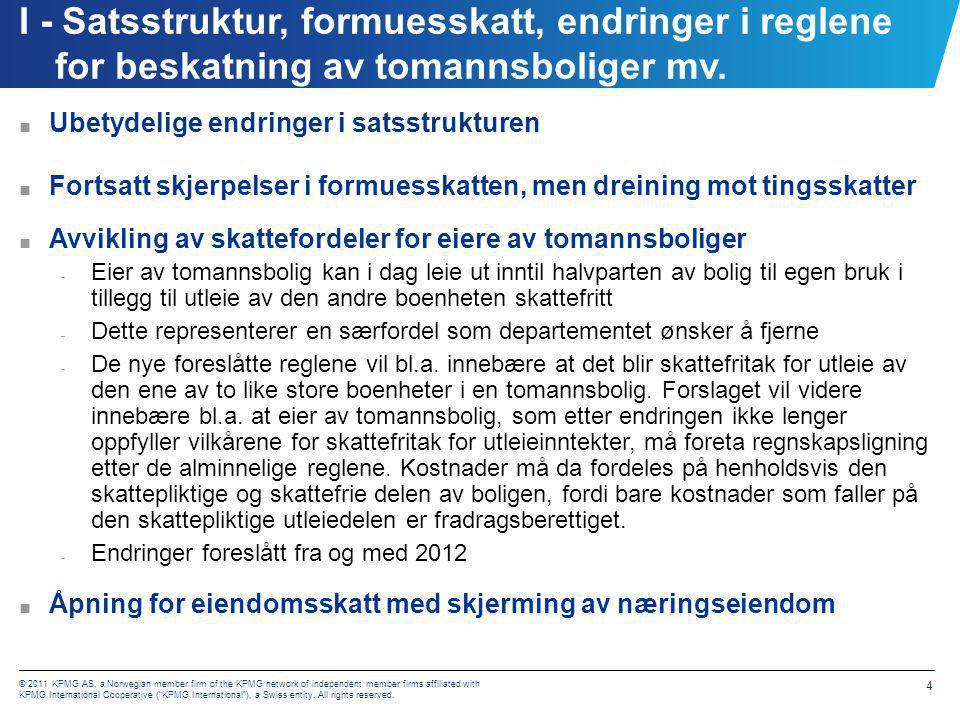 I - Skattsatser 2012 – Lønnstakere og næringsdriv.
