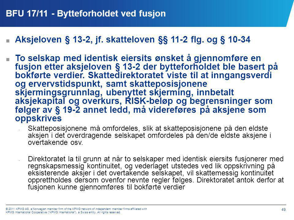 BFU 19/11 - Formuesbeskatning av livrente