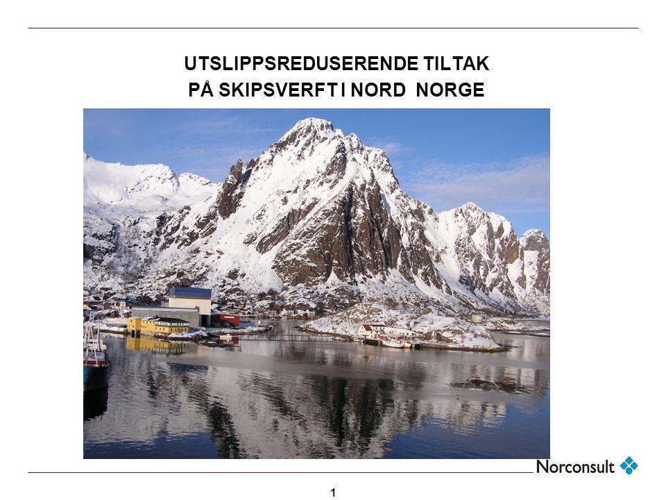 <Header> UTSLIPPSREDUSERENDE TILTAK PÅ SKIPSVERFT I NORD NORGE