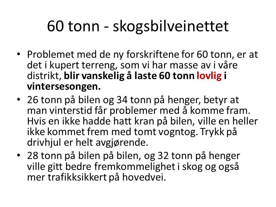 60 tonn - skogsbilveinettet