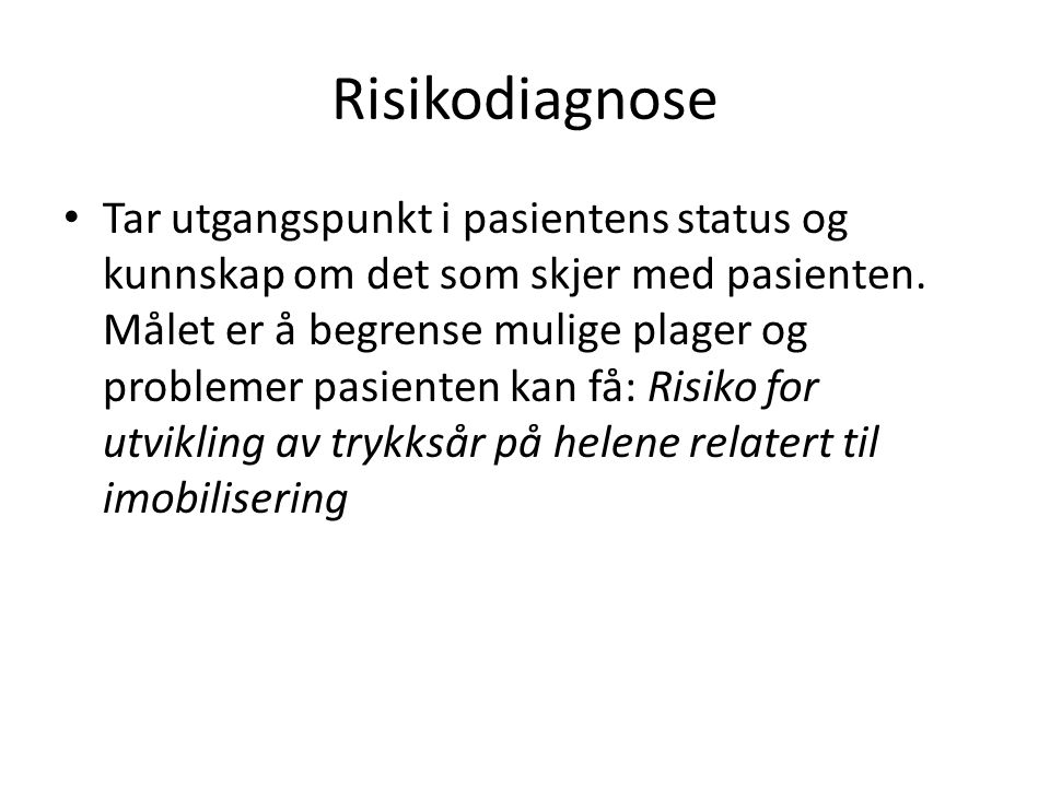 Risikodiagnose