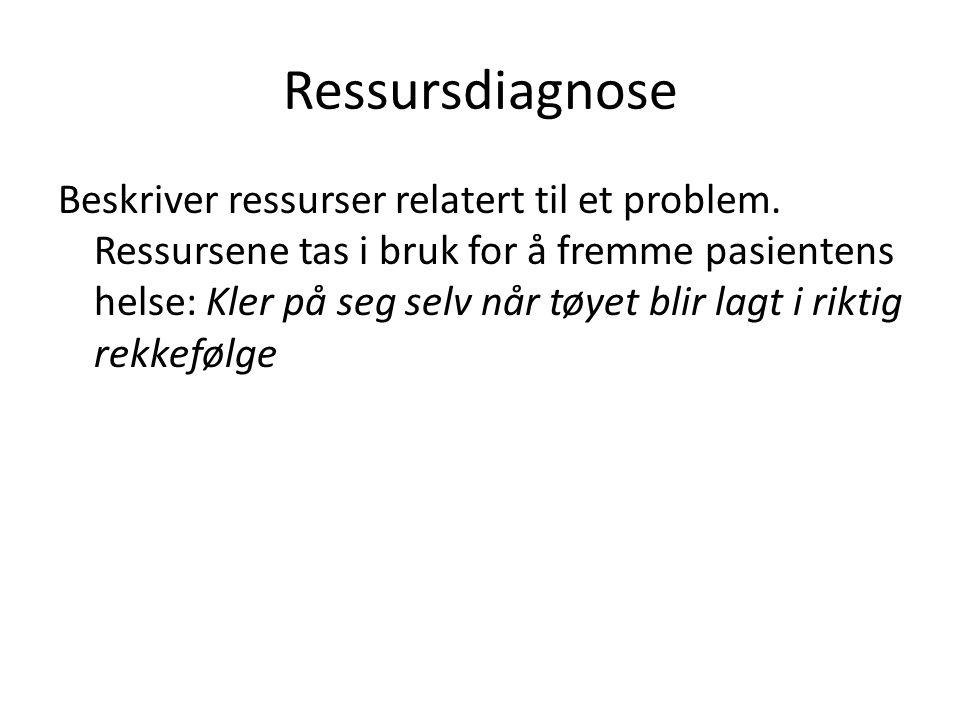 Ressursdiagnose
