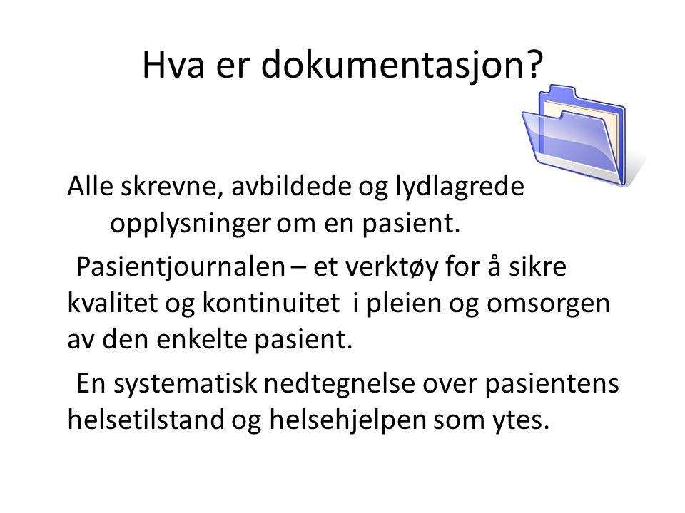 Hva er dokumentasjon