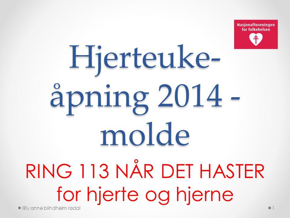 Hjerteuke-åpning 2014 - molde