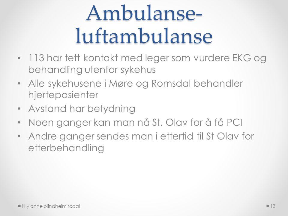 Ambulanse-luftambulanse