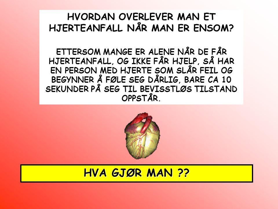 HVORDAN OVERLEVER MAN ET HJERTEANFALL NÅR MAN ER ENSOM