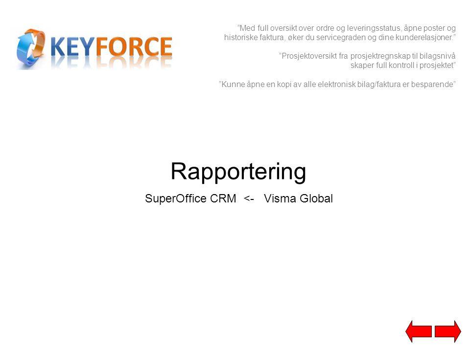 SuperOffice CRM <- Visma Global