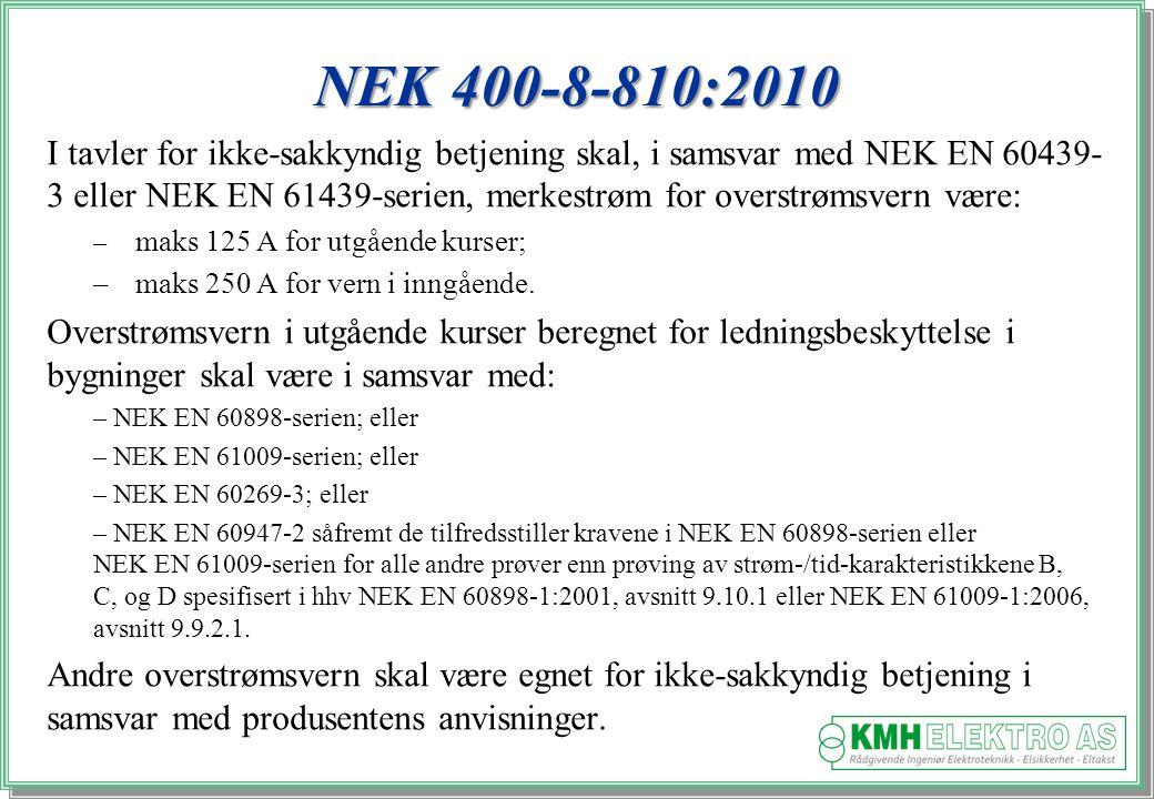 NEK 400-8-810:2010