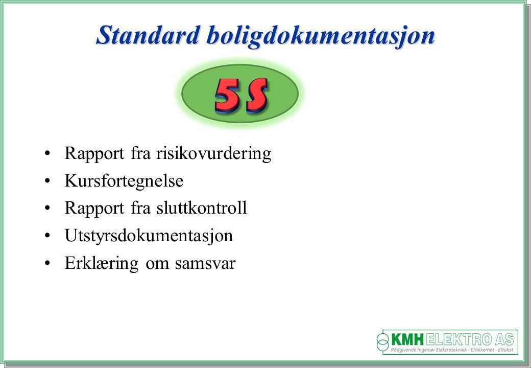 Standard boligdokumentasjon