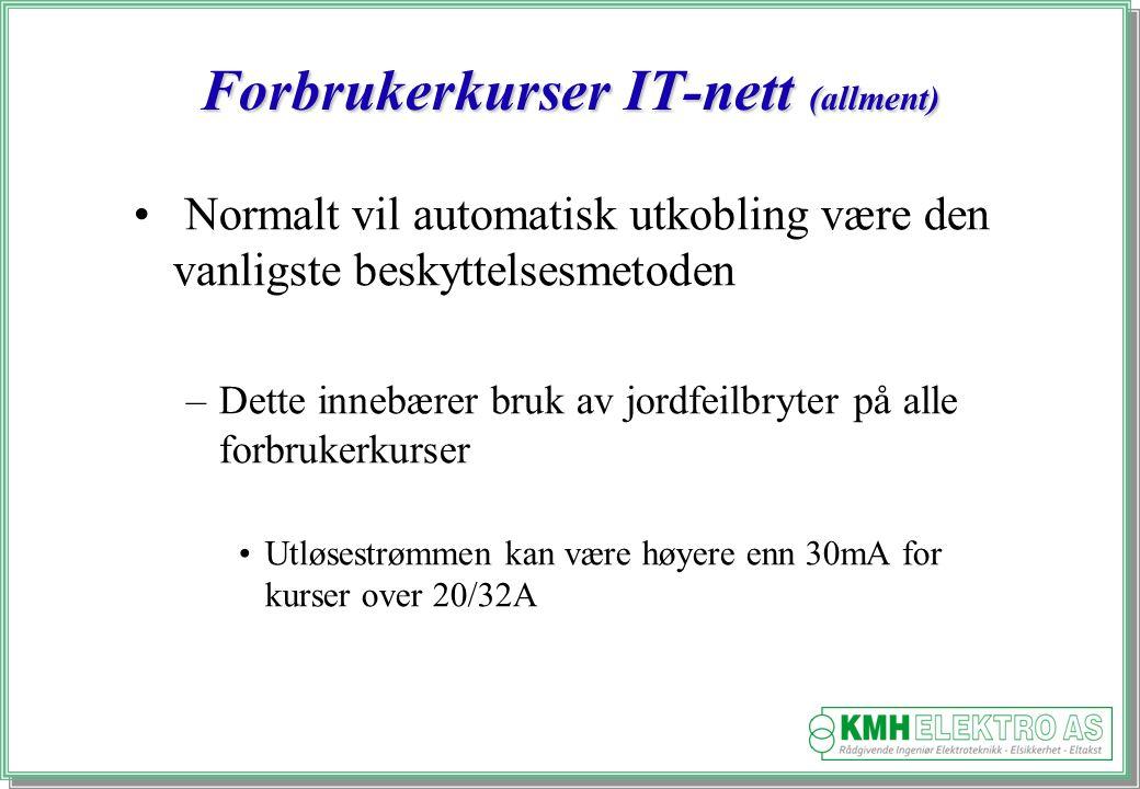 Forbrukerkurser IT-nett (allment)