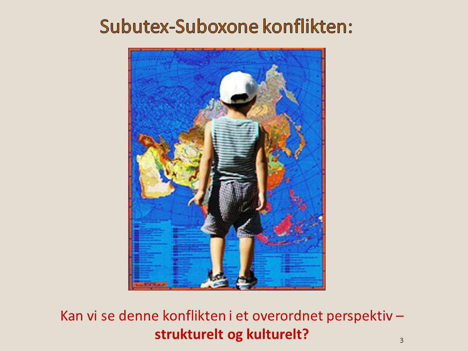 Subutex-Suboxone konflikten: