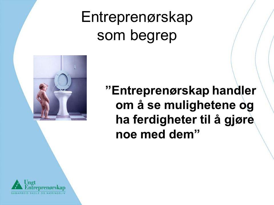 Entreprenørskap som begrep