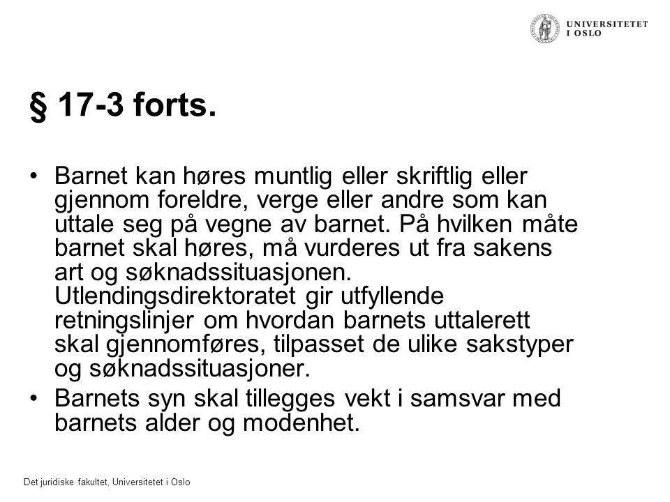 § 17-3 forts.