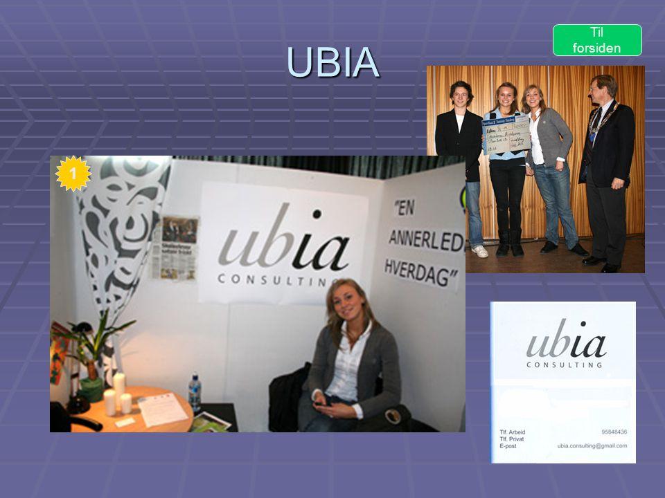 UBIA Til forsiden 1