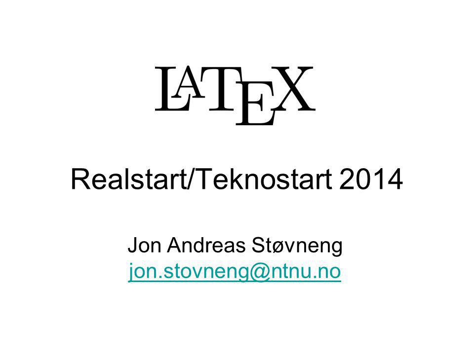 Realstart/Teknostart 2014