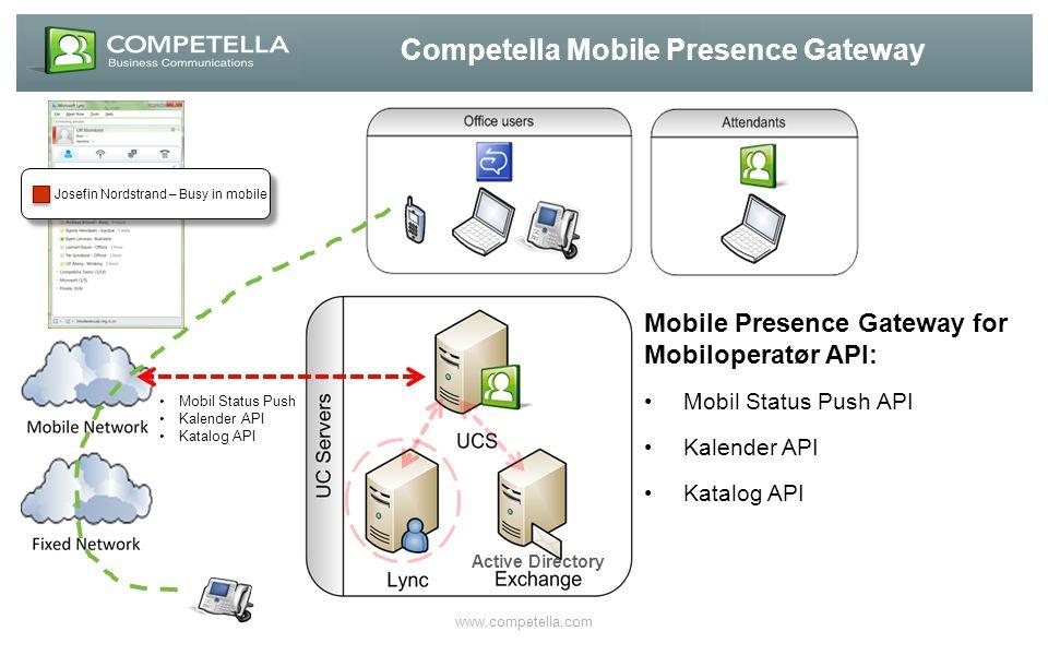 Competella Mobile Presence Gateway
