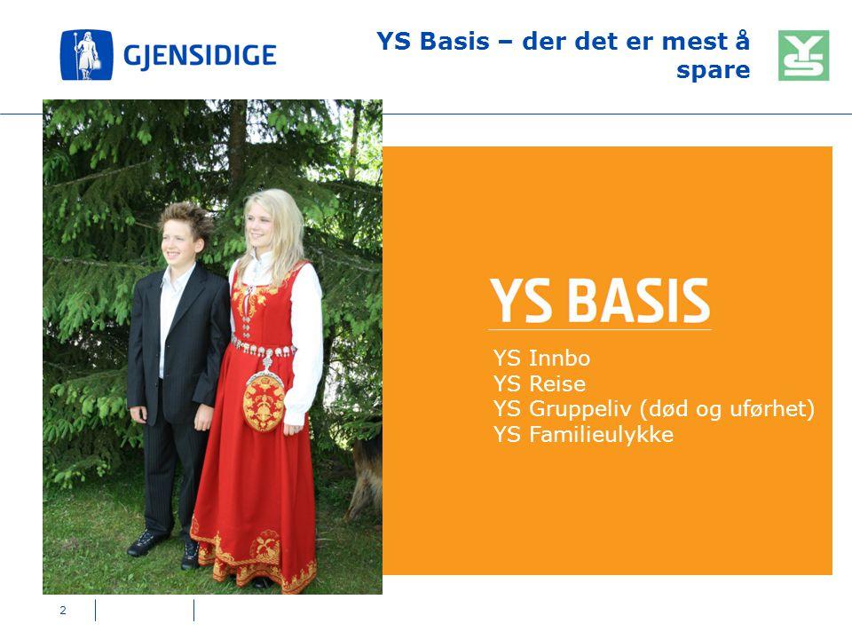 YS Basis – der det er mest å spare