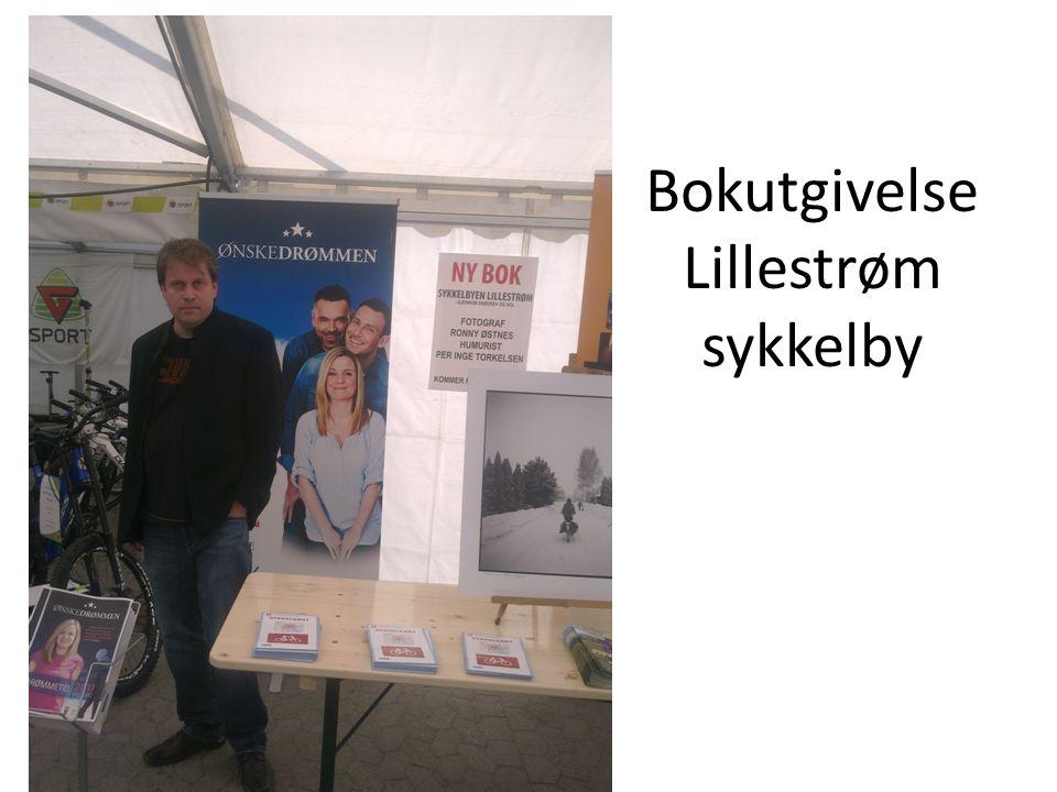 Bokutgivelse Lillestrøm sykkelby
