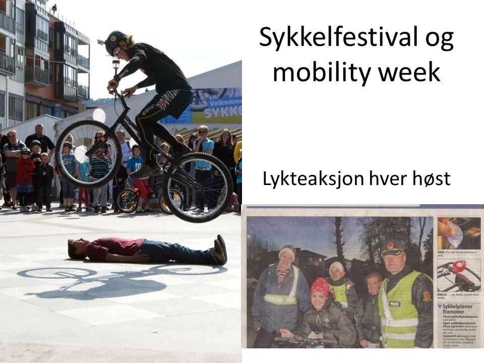 Sykkelfestival og mobility week