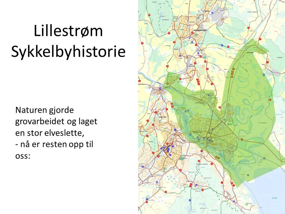 Lillestrøm Sykkelbyhistorie