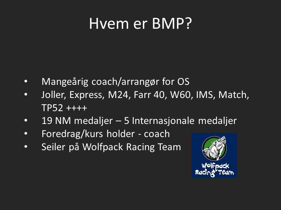 Hvem er BMP Mangeårig coach/arrangør for OS
