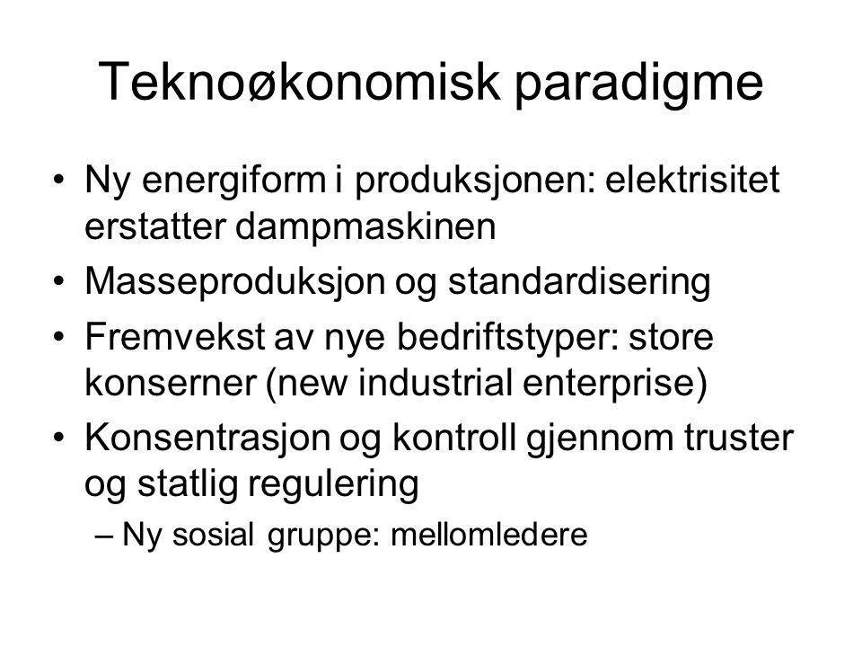 Teknoøkonomisk paradigme
