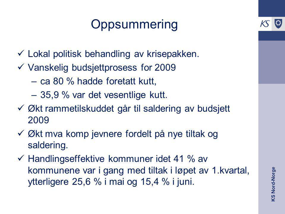 Oppsummering Lokal politisk behandling av krisepakken.