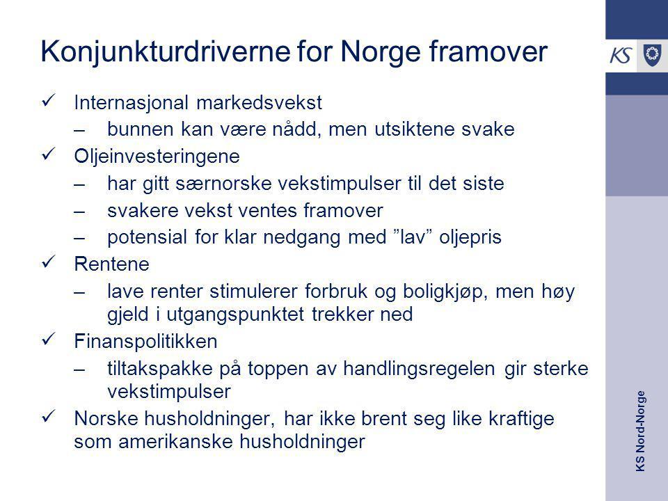 Konjunkturdriverne for Norge framover