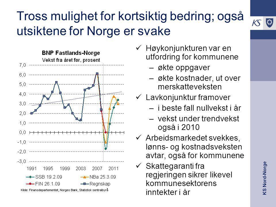 05.04.2017 Tross mulighet for kortsiktig bedring; også utsiktene for Norge er svake. Høykonjunkturen var en utfordring for kommunene.