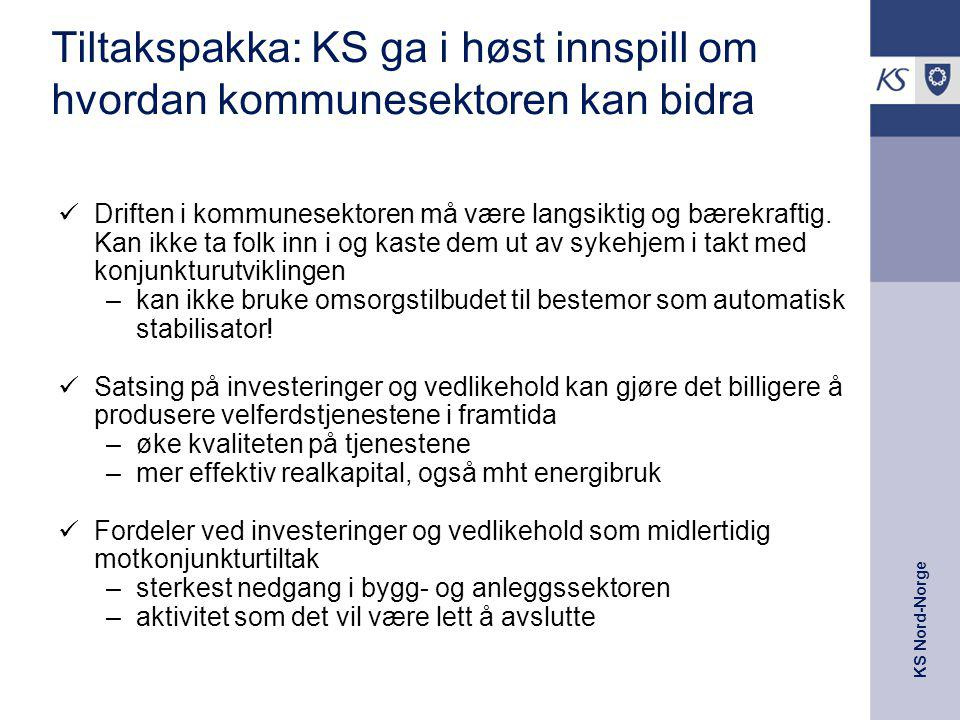 05.04.2017 Tiltakspakka: KS ga i høst innspill om hvordan kommunesektoren kan bidra.