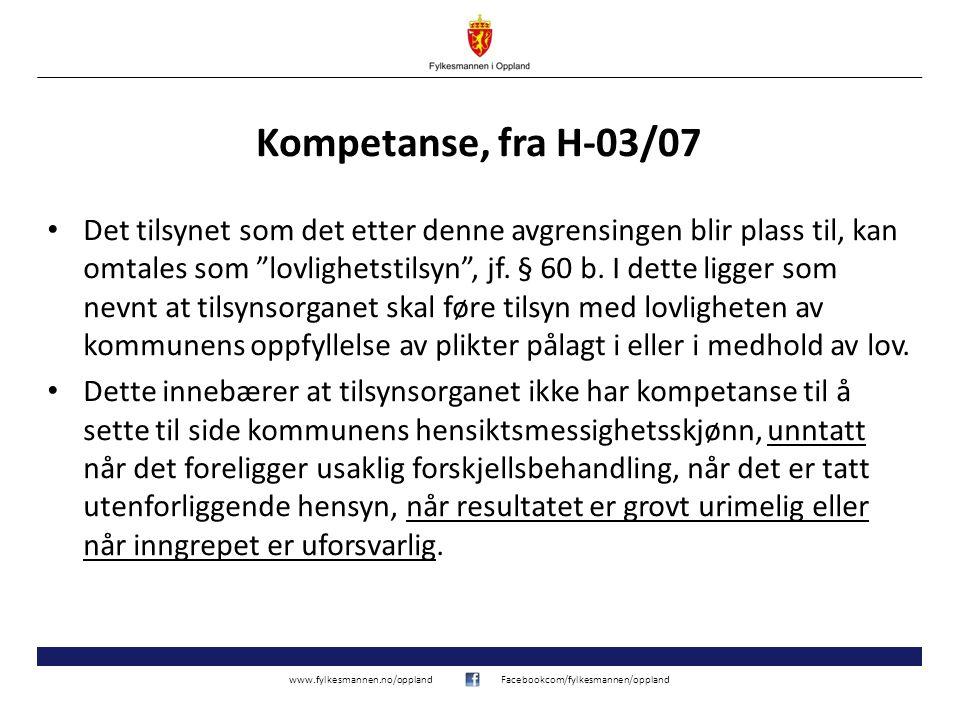 Kompetanse, fra H-03/07