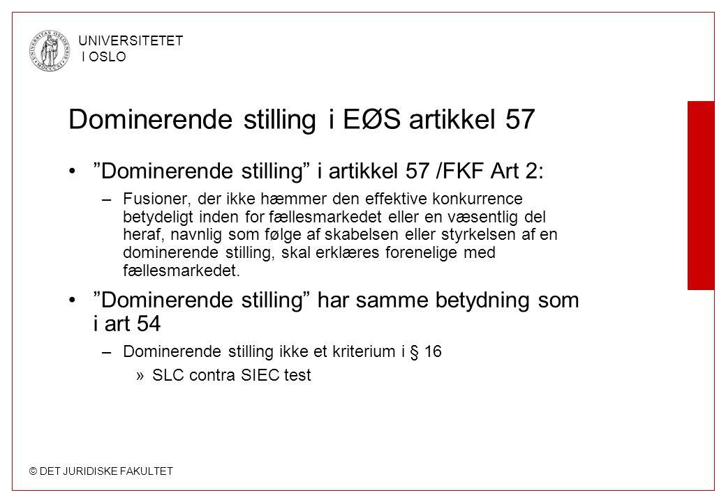 Dominerende stilling i EØS artikkel 57