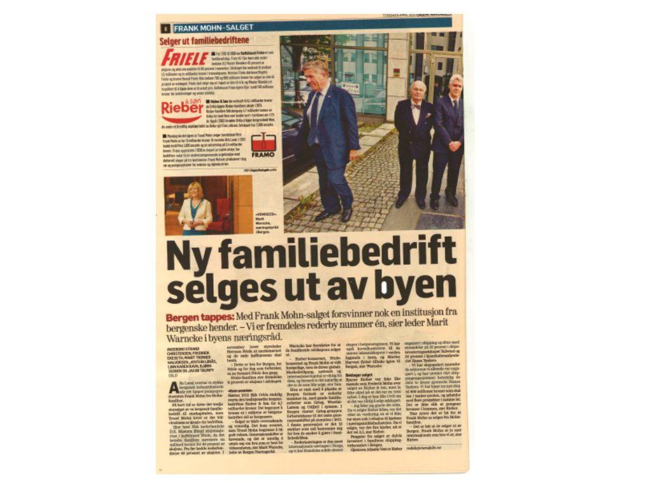 Høyteknologiske og lønnsomme bedrifter blir kjøpt opp av eiere utenfor Norge