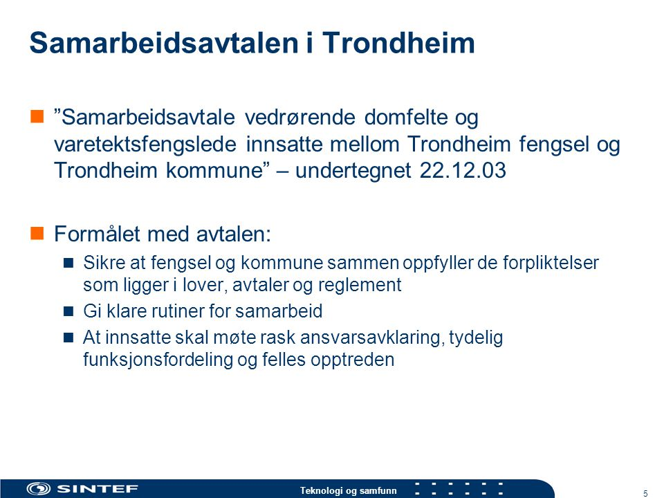 Samarbeidsavtalen i Trondheim