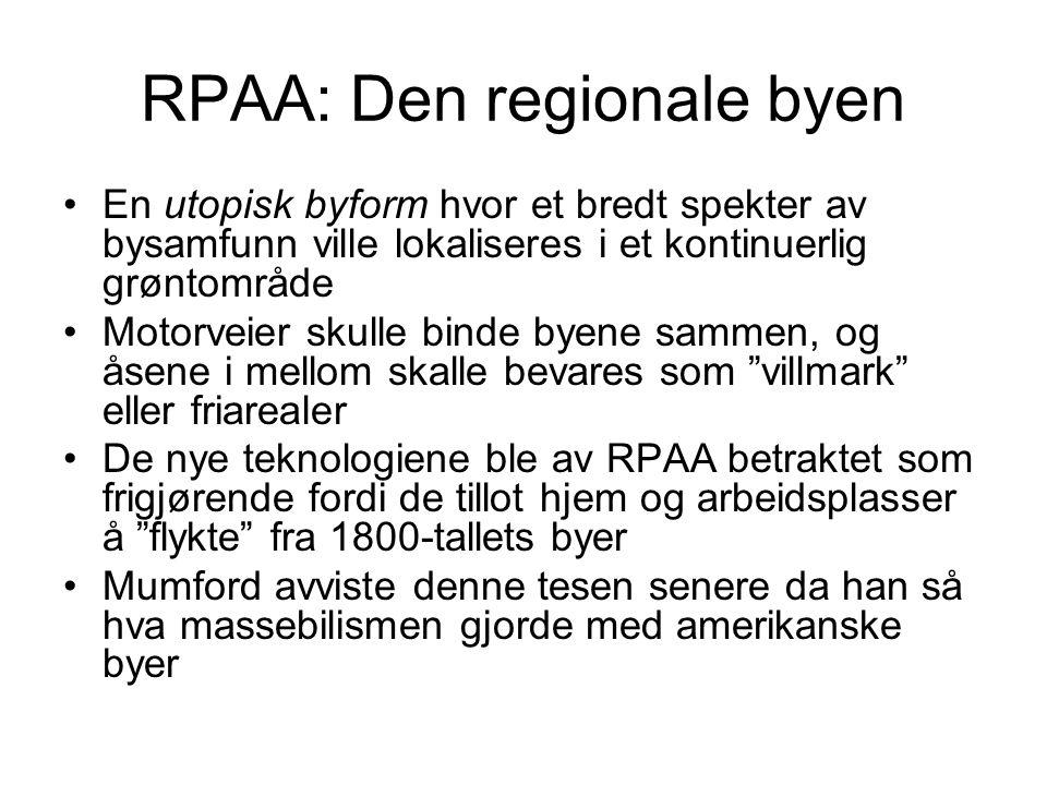 RPAA: Den regionale byen