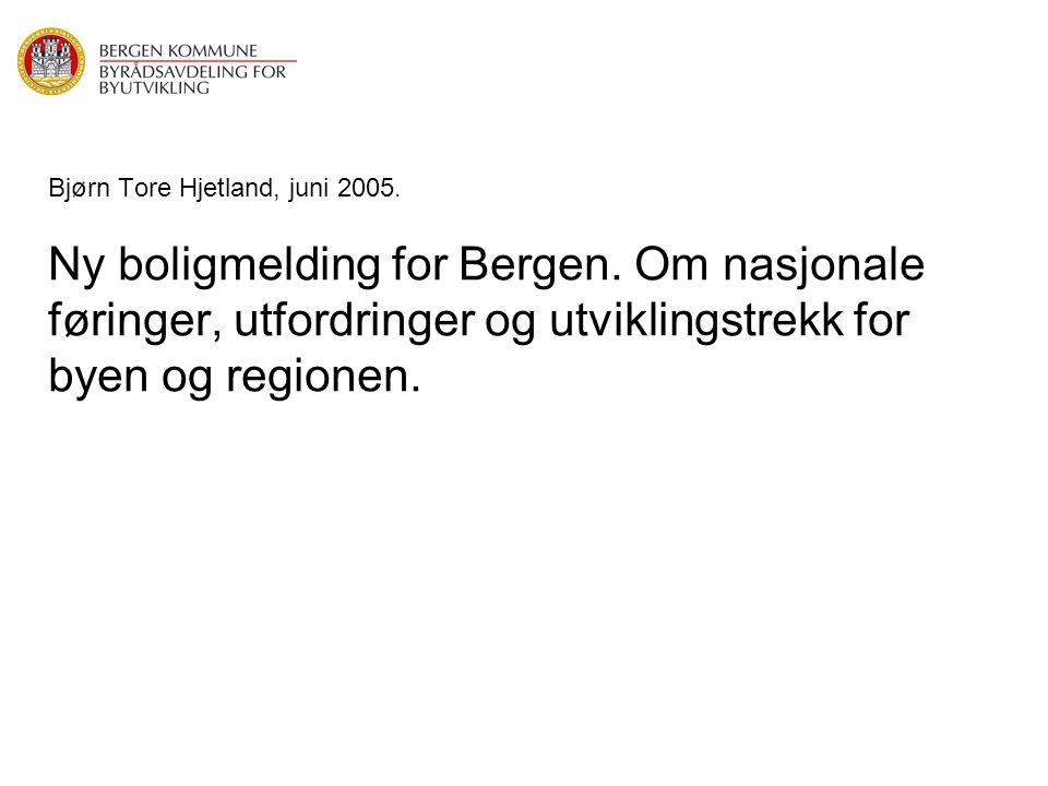 Bjørn Tore Hjetland, juni 2005. Ny boligmelding for Bergen