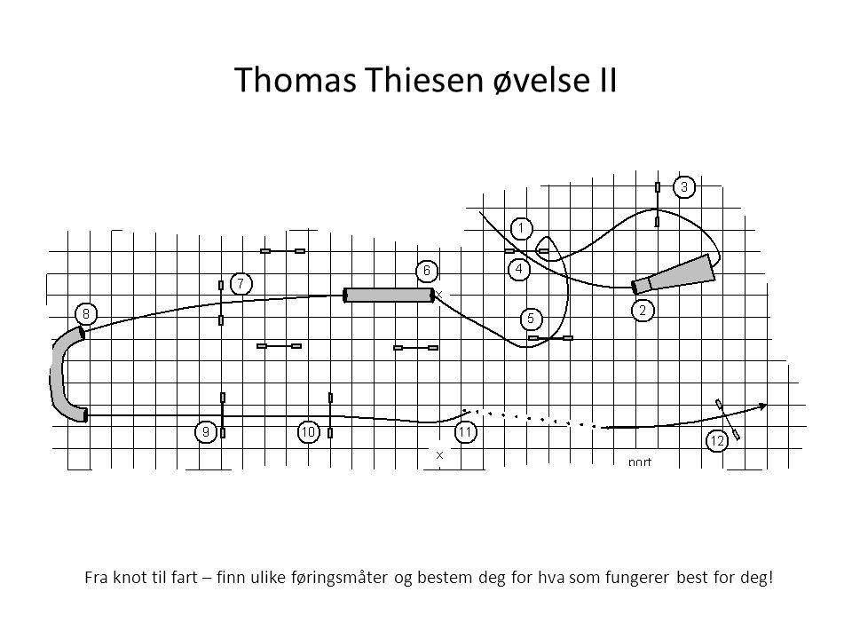 Thomas Thiesen øvelse II