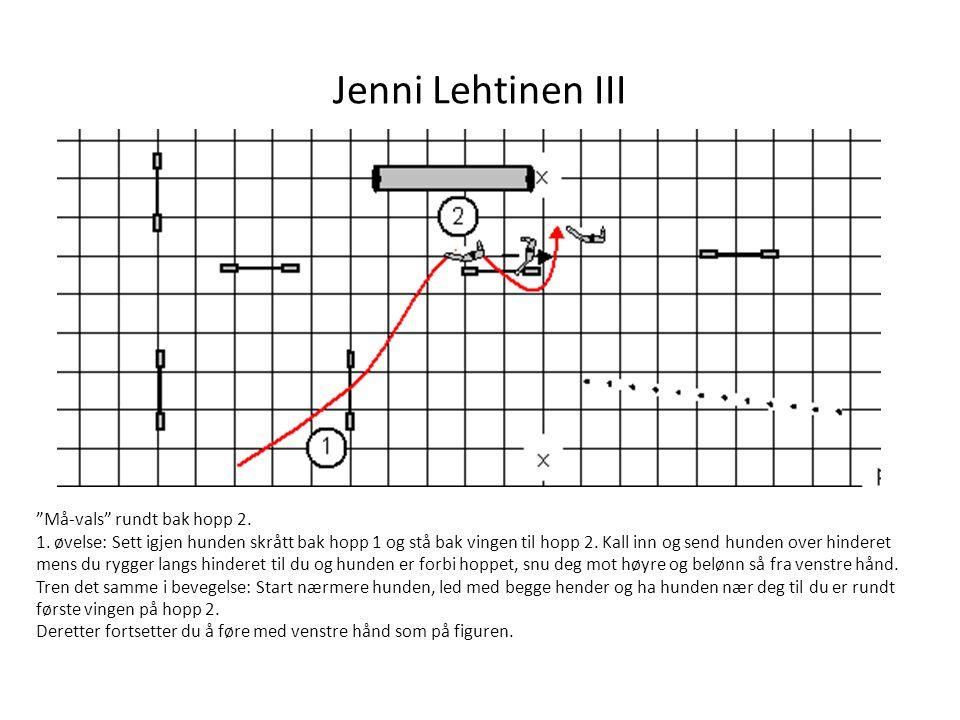 Jenni Lehtinen III Må-vals rundt bak hopp 2.