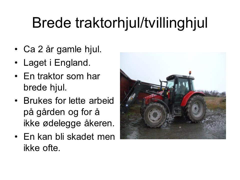 Brede traktorhjul/tvillinghjul