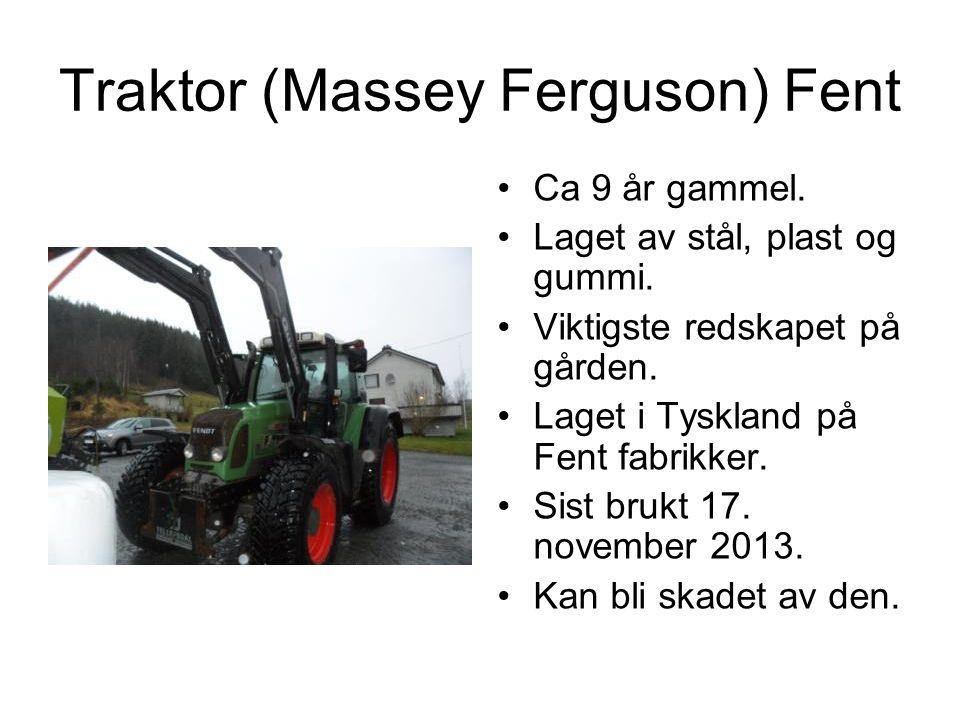 Traktor (Massey Ferguson) Fent