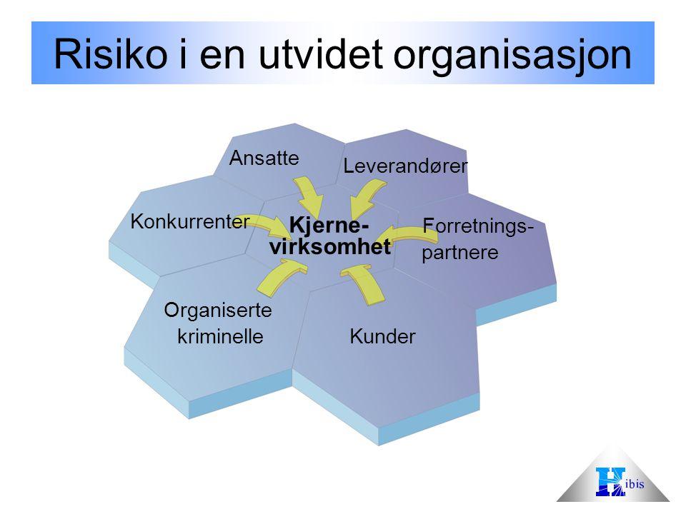 Risiko i en utvidet organisasjon