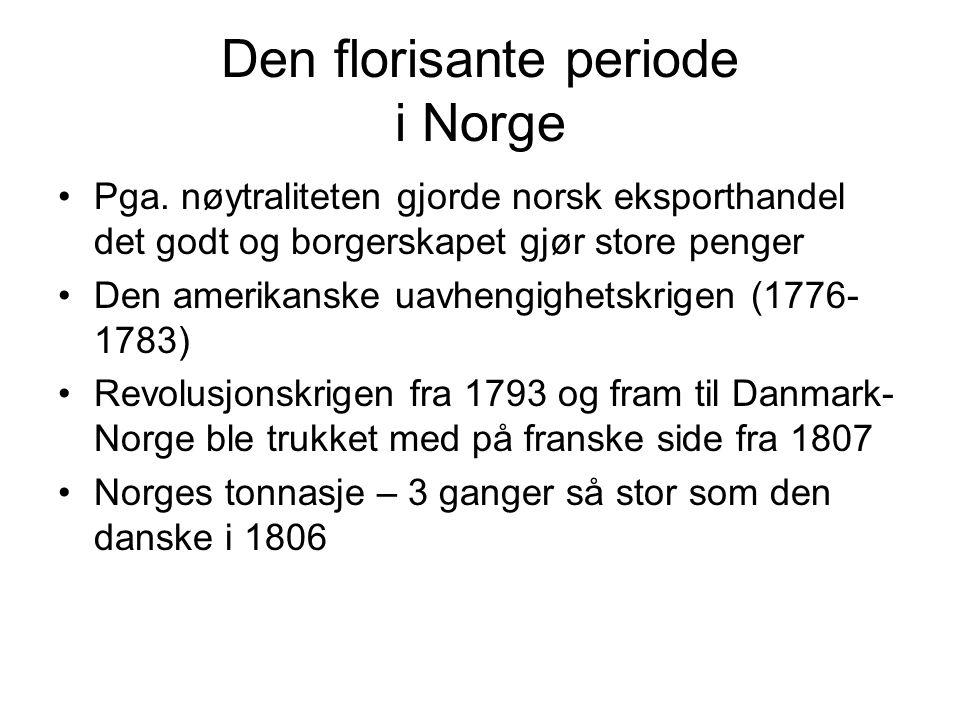 Den florisante periode i Norge