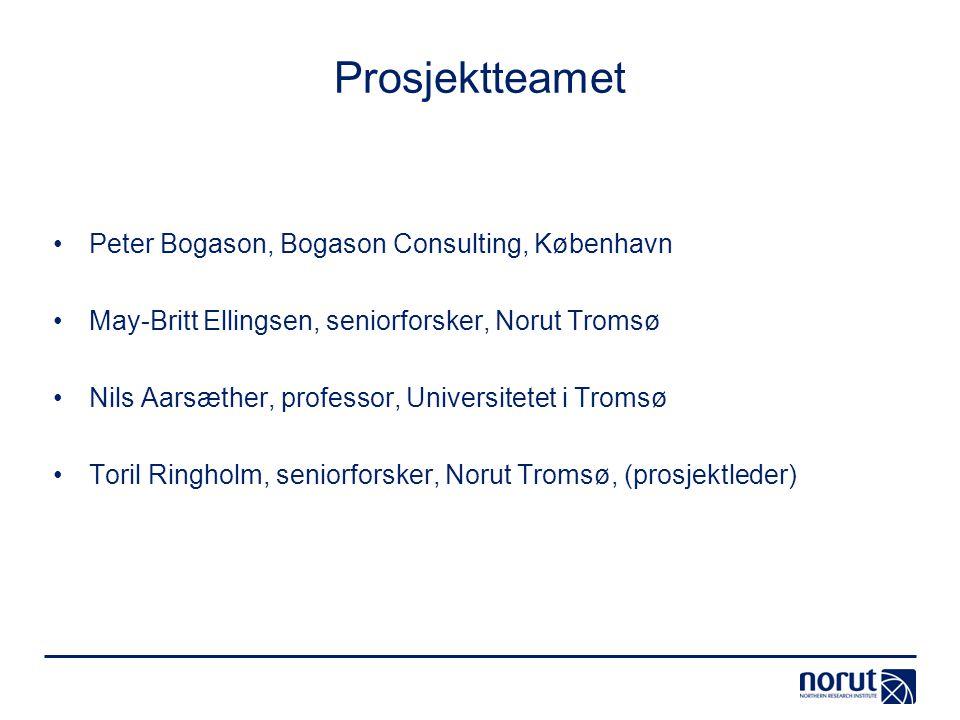 Prosjektteamet Peter Bogason, Bogason Consulting, København