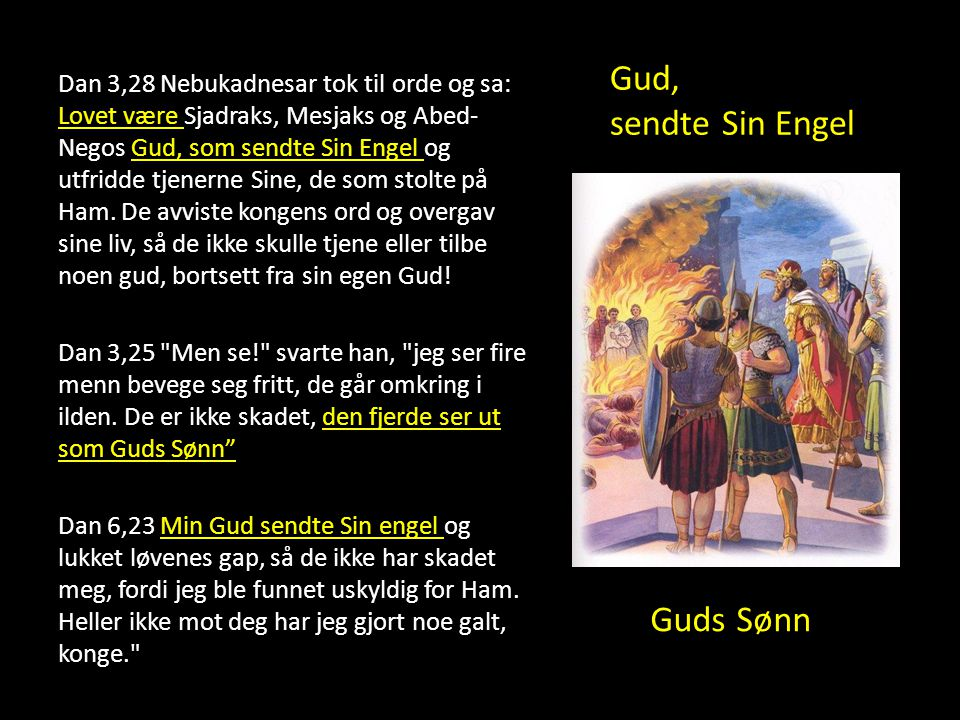 Gud, sendte Sin Engel Guds Sønn