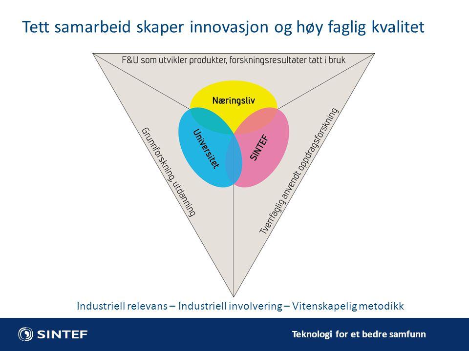 Tett samarbeid skaper innovasjon og høy faglig kvalitet