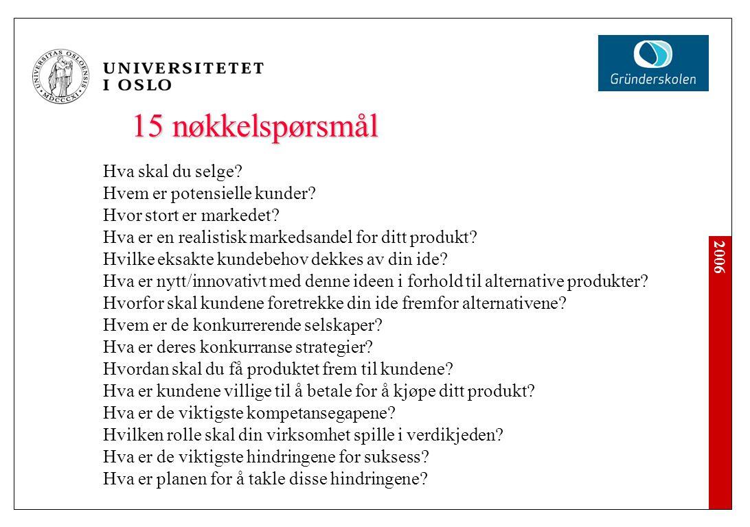 Sammendrag Formål: Gi en tidspresset investor en rask oversikt forretningsplanens viktigste punkter.