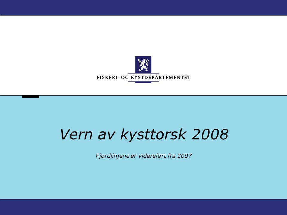 Fjordlinjene er videreført fra 2007