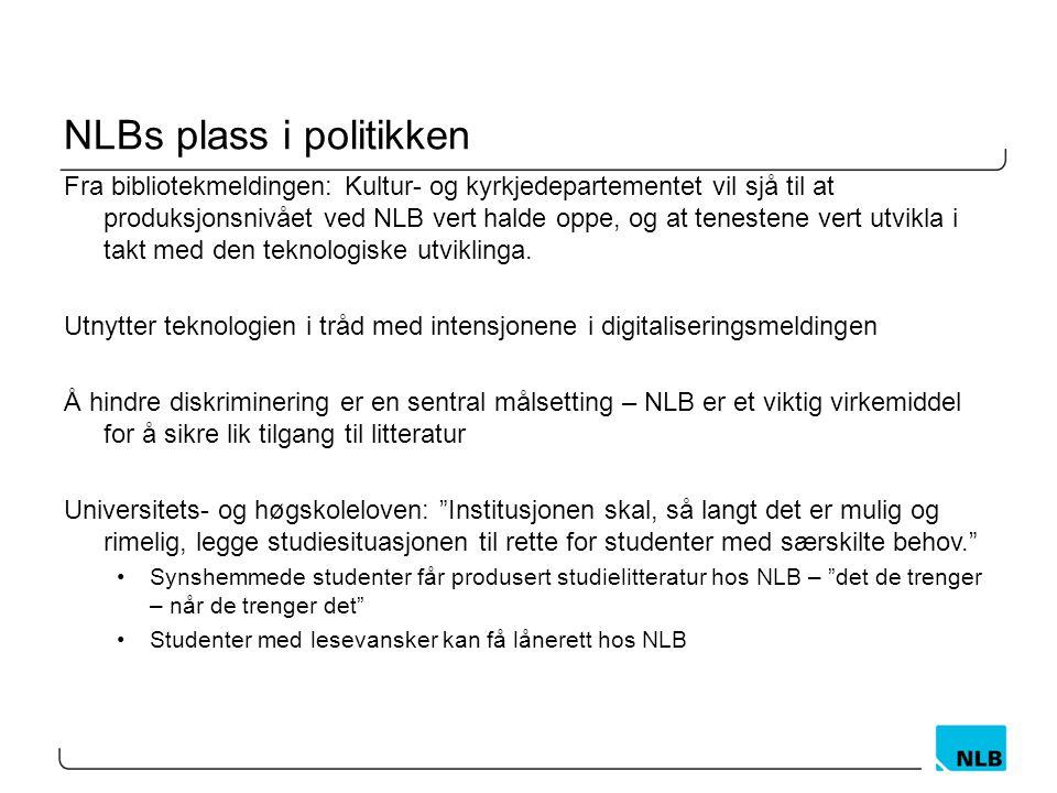 NLBs plass i politikken